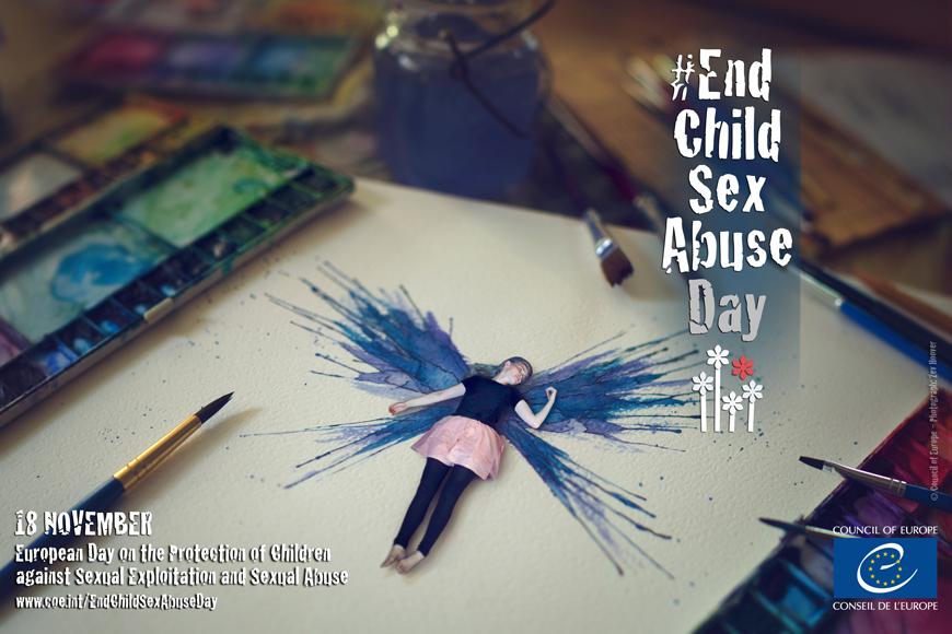 Acto de conmemoración del Día Europeo para la protección de los niños del Abuso Sexual y Explotación sexual.