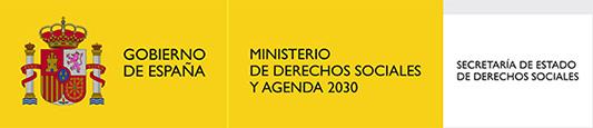 Apoyo y financiación Ministerio de Derechos sociales